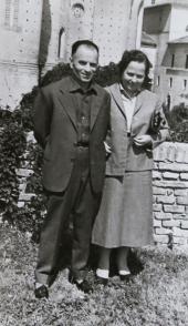 nonno Mariano e nonna Maria