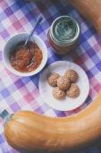 Marmellata di zucca e amaretti aromatizzata alla cannella