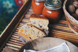Torta al burro di arachidi, cioccolato fondente e frutta secca