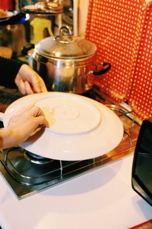 La cottura della frittata